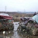 Accident cu 2 persoane ranite si 3 autoturisme avariate, pe E85, in Mihailesti