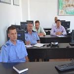 Masuri de securitate cu ocazia manifestarilor sportive din judet, luate in discutie la intalnirea tehnica de la sediul IJJ
