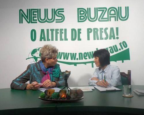 TV NEWS Elena Capatina