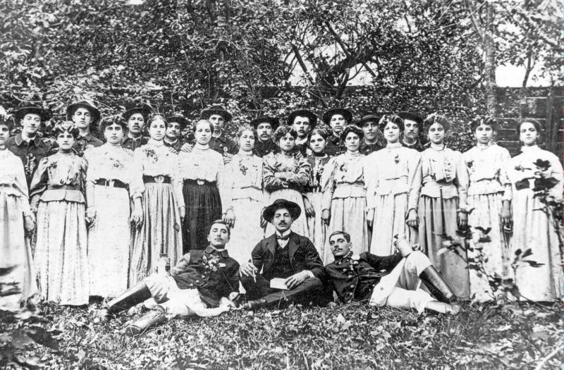 Fete din Schei 1912