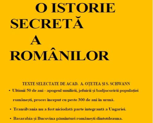 O istorie secreta a romanilor