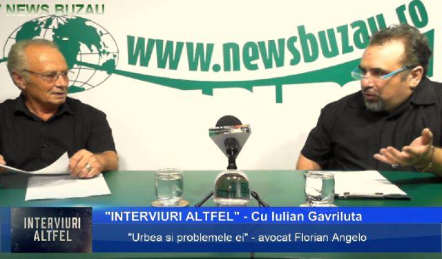 TV NEWS BUZAU Interviuri altfel Cu Iulian Gavriluta si avocatul Florian Angelo