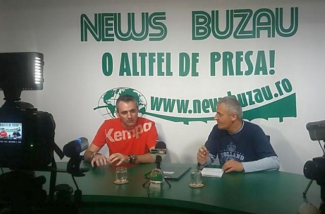 INTERVIURI ALTFEL TV NEWS BUZAU Razvan Voicu HC Buzau 2012