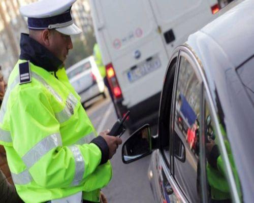 Politia control trafic