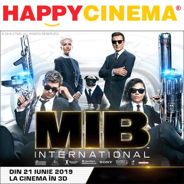 MIB la Happy Cinema