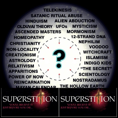 The exploatation of superstitions for purpose of psychological warfare