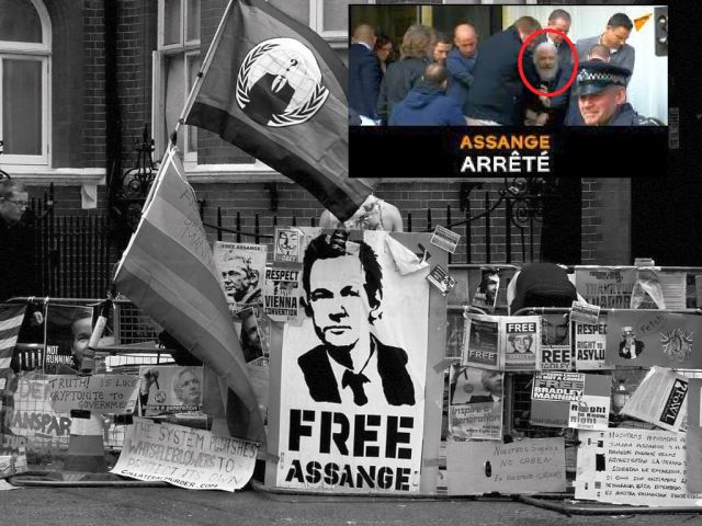 Arestare Assange Anonymous